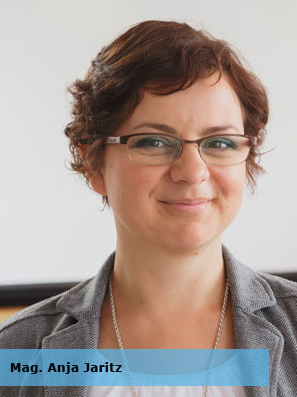 Vortragende Anja Jaritz