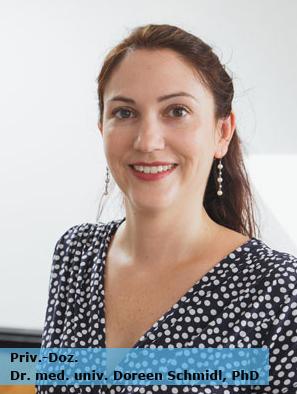 Vortragende Dr. Doreen Schmidl