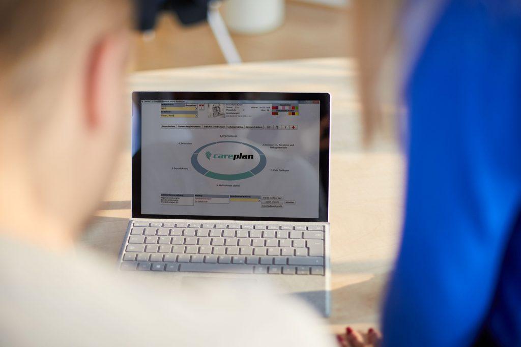 careplan: die Software für Ihre Dokumentation in der stationären Pflege