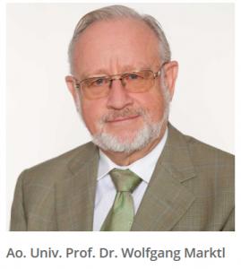Dr. Wolfgang Marktl als Fachreferent