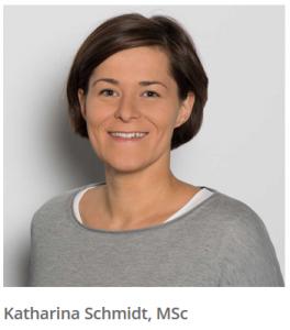 Katharina Schmidt als Fachreferentin am OHI Update