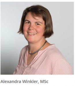 Alexandra Winkler als Fachreferentin am OHI Update