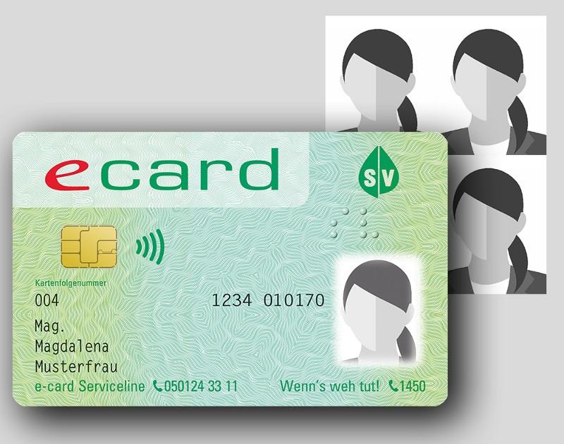e-card mit Foto